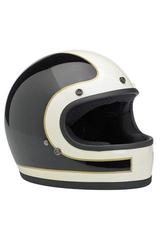 Helmet Gringo Full Face Biltwell Tracker LE Black/White New