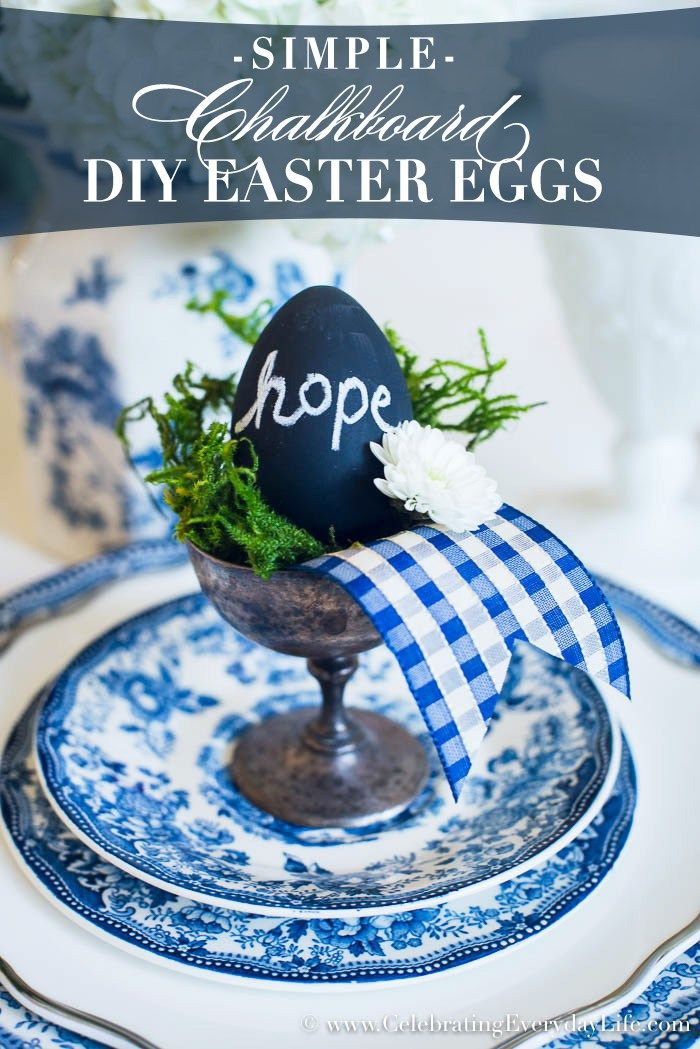 Easy diy chalkboard easter eggs are a simple easter craft to make easy diy chalkboard easter eggs are a simple easter craft to make they also double negle Gallery