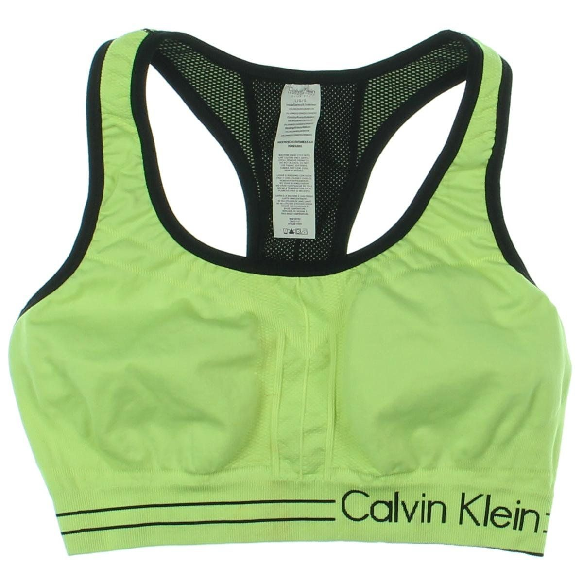 Calvin Klein Performance Womens Perforated Moisture Wicking Sports ...