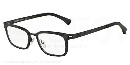 665daf1f5012b Emporio Armani Ea 1034 Matte Black Demo Lens 54Mm Non-Polarized Eyeglasses