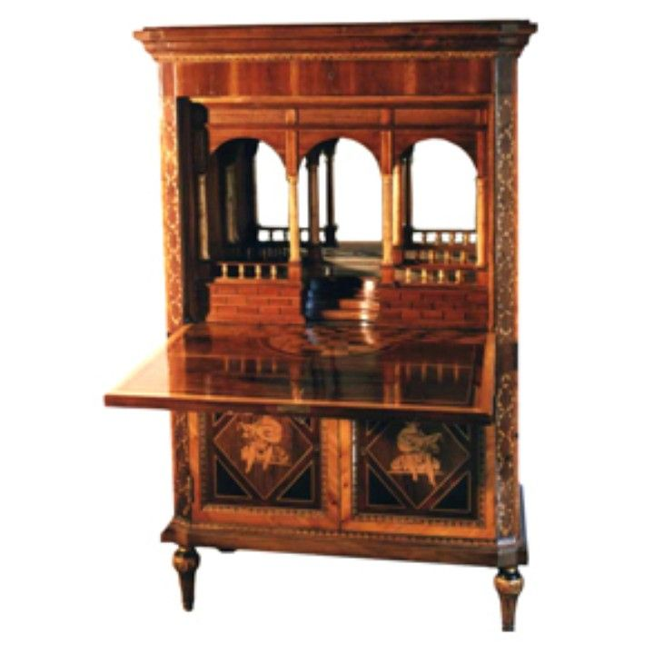 Maggiolini secretaire from Italian Collections LLC  on www.italiancollections.com