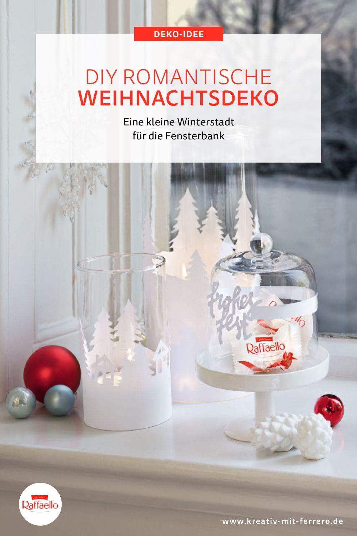 Weihnachtliche Windlichter zum nachbasteln