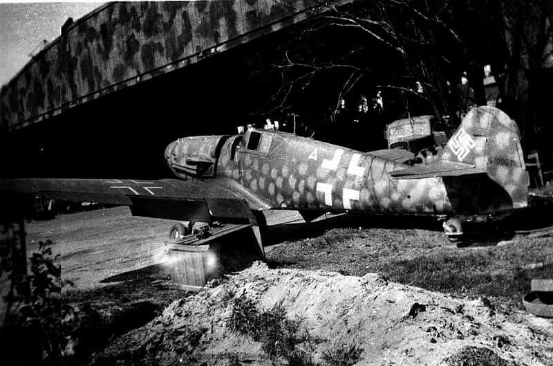Bf 109 G-6, Wunsdorf Germany 1945