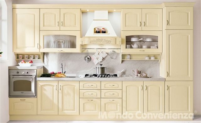 Berta - Cucine - Classico - Mondo Convenienza | Ideal home | Kitchen ...