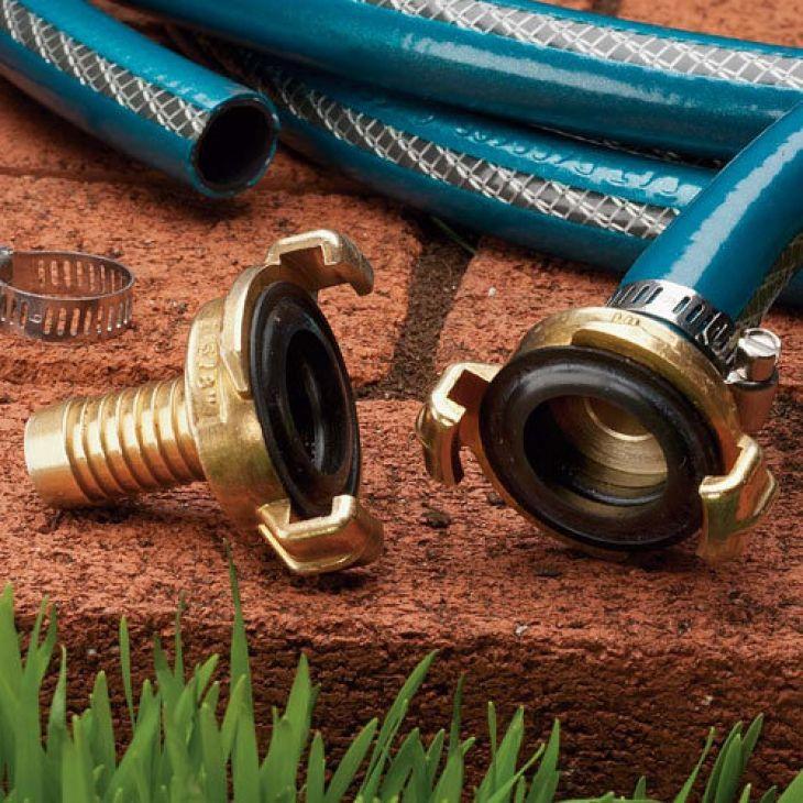 garden hose repair. Garden Hose Repair Connectors Professional For Damaged Sections Q