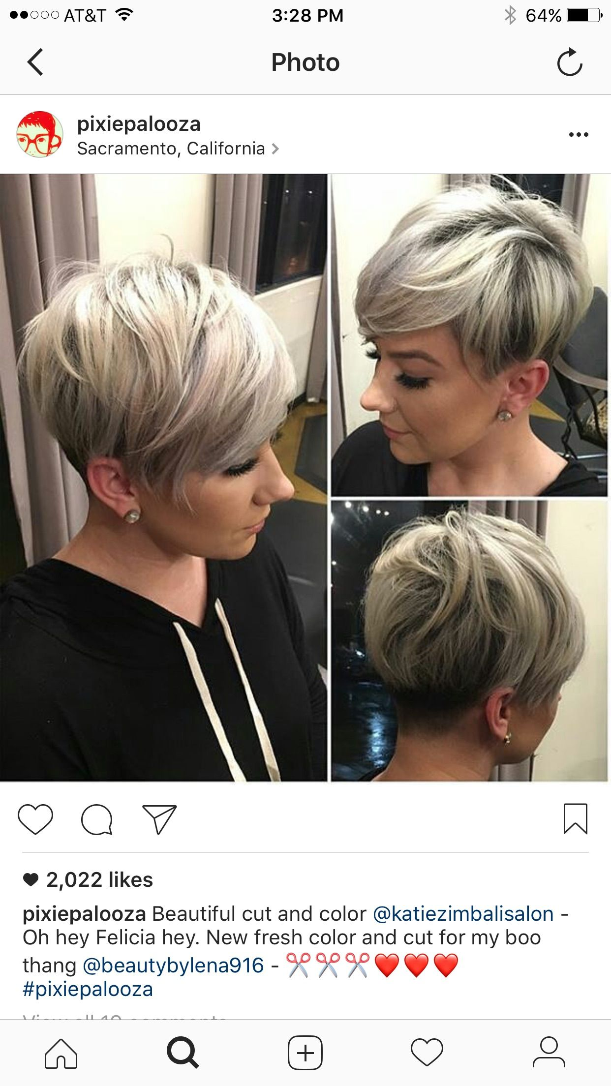 Pin by adriana ciampa on all about hair pinterest short hair