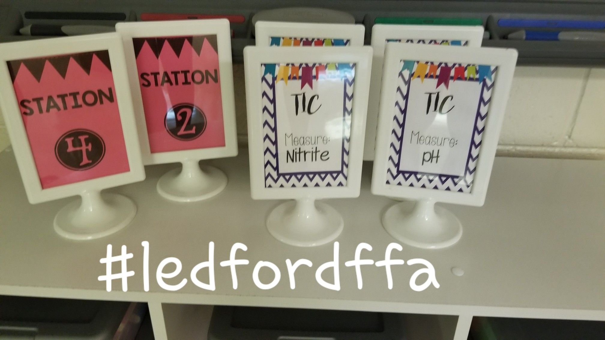 Love These Photo Frames From Ikea That I Made Into Station
