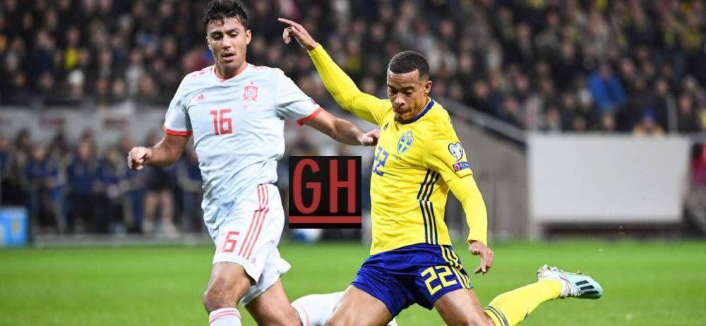 Sweden 1 1 Spain Football Today Football Euro Football Gif