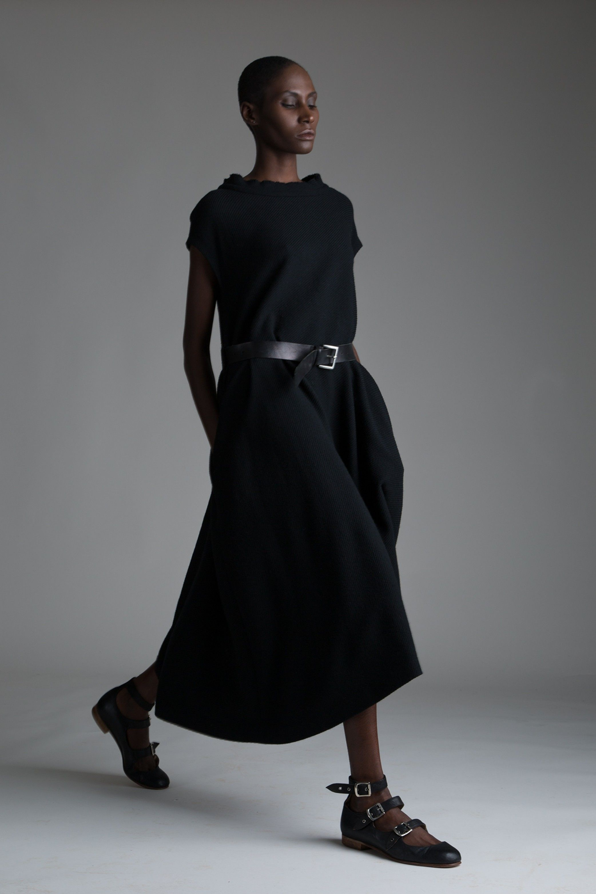 Vintage Y S Yohji Yamamoto Dress Designer Clothing Dark