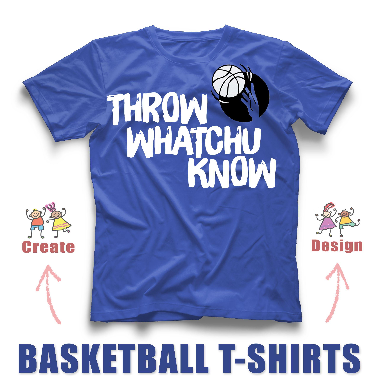 Girls Basketball T Shirt Designs
