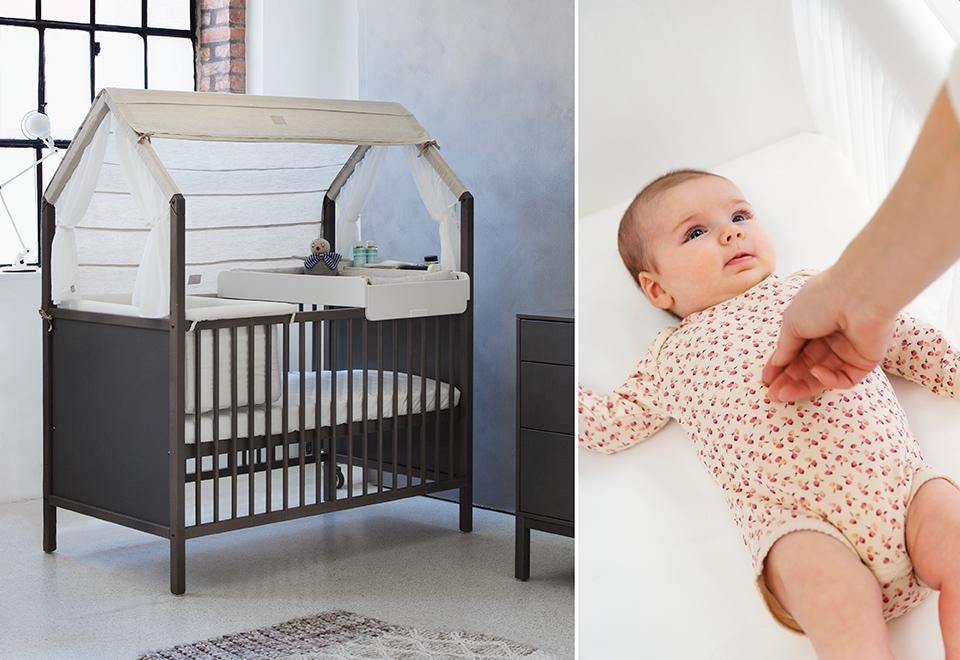 Stokke Kinderzimmer ~ Stokke home concept the flexible changer attatches to the dresser