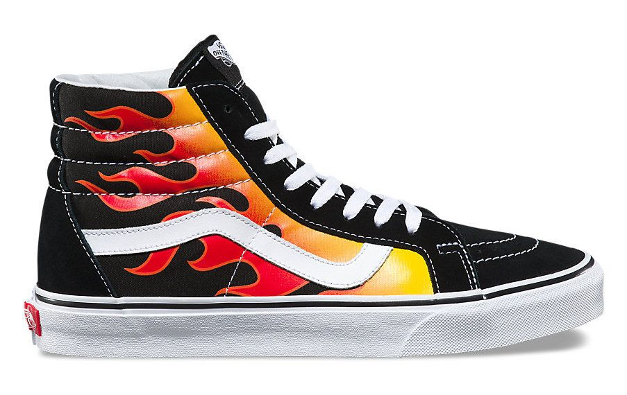 chaussure vans flame
