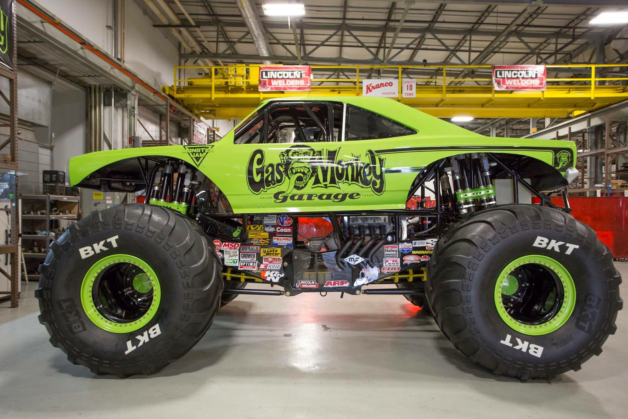 Gas Monkey Garage Monster Truck Commander Cody Race Cars