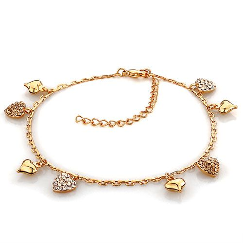 watches ankle yellow inches adjustable jewelry mcs solid inc inch karat gold product thin anklet infinity bracelet