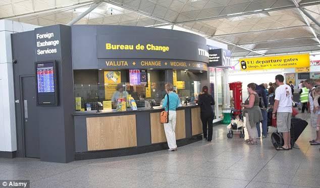 What is bureau de change and five functions of bureau de change