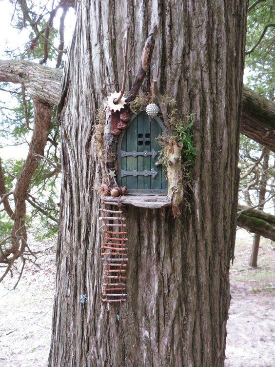 Fairy Door Ideas - Pinterest Favorites - The WHOot
