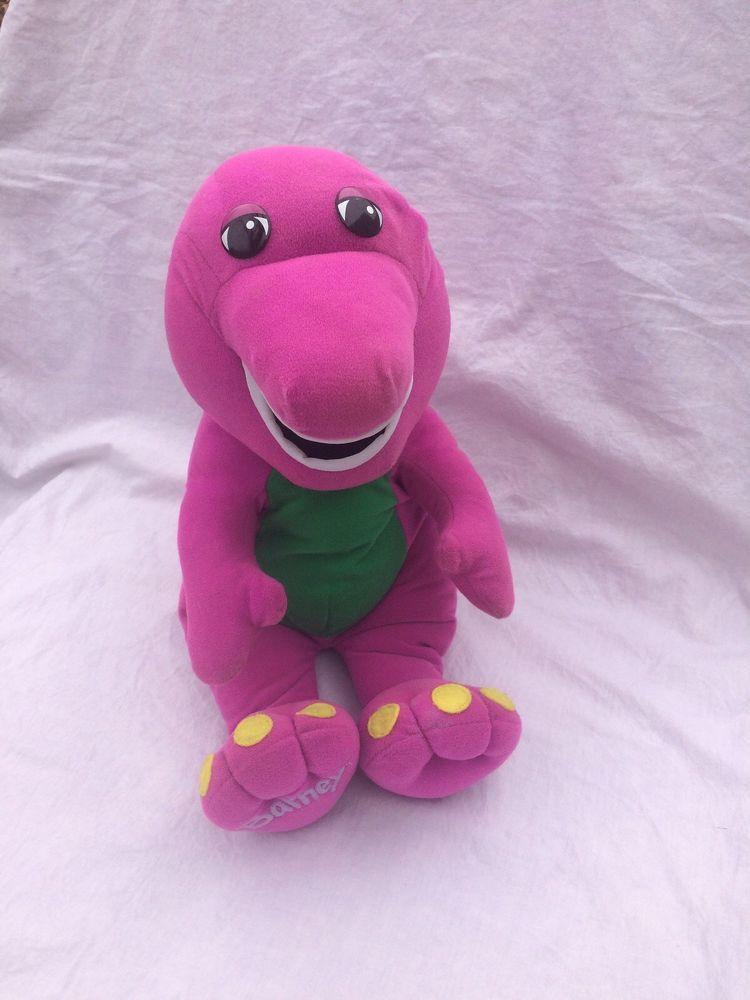 Barney The Dinosaur Talking Plush Hasbro Vintage 1992 Original 71245