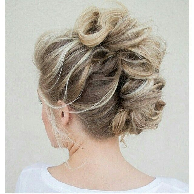 Messy French Twist Up-Style