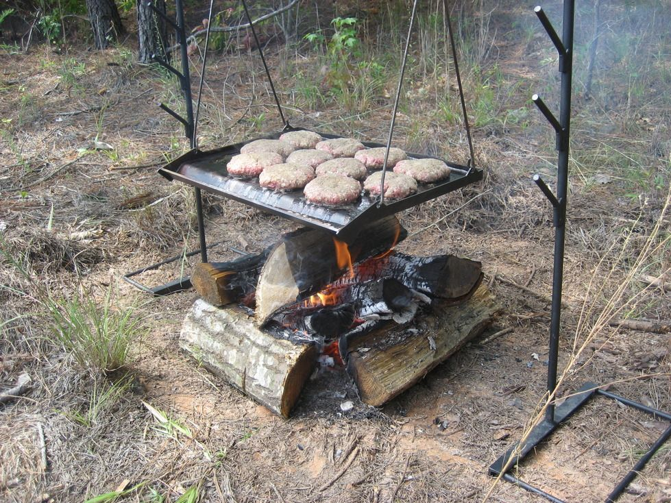 A New Campfire Cooking System Is Here Check It Out Campfire Cooking Campfire Fire Cooking