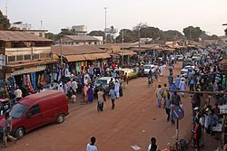 The GambiaThe Gambia's economy is dominated by farming, fishing, and tourism. About a third of the population lives below the international poverty line of US$1.25 a day. A variety of ethnic groups live in the Gambia, each preserving its own language and traditions. The Mandinka ethnicity is the largest, followed by the Fula, Wolof, Jola, Serahule, Serers, Karoninka, Manjago and the Bianunkas - Wikipedia, the free encyclopedia