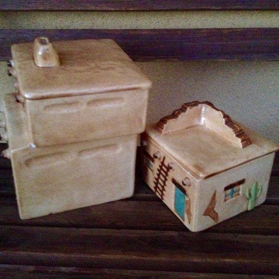 Pueblo Casita Ceramic House
