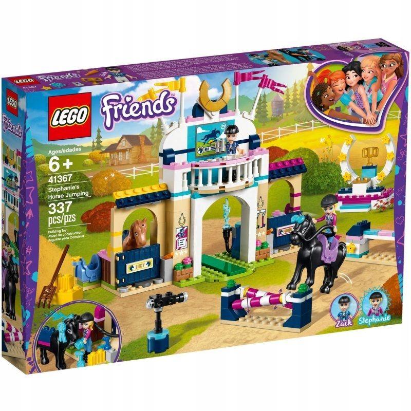 Lego Friends 41367 Skoki Przez Przeszkody Stephani