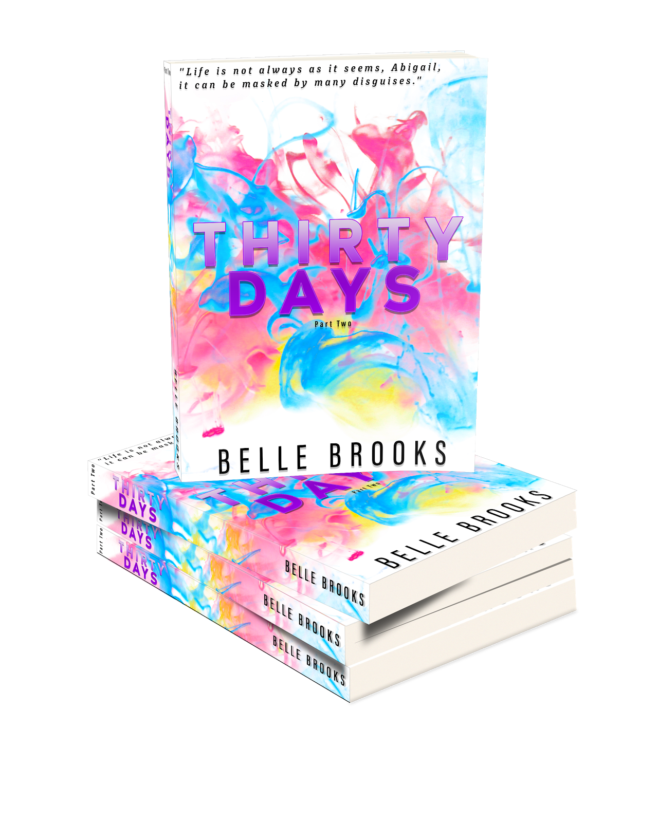 Cover Reveal Thirty Days Belle Brooks