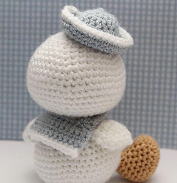 Amigurumi Pattern - Lil Quack | El patito, Patrones de crochet y Lo ...