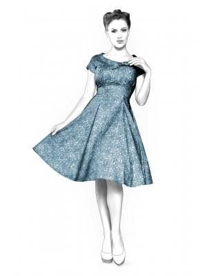 Lekala 4368 - Dress Sewing Pattern PDF Download, Free Made to ...