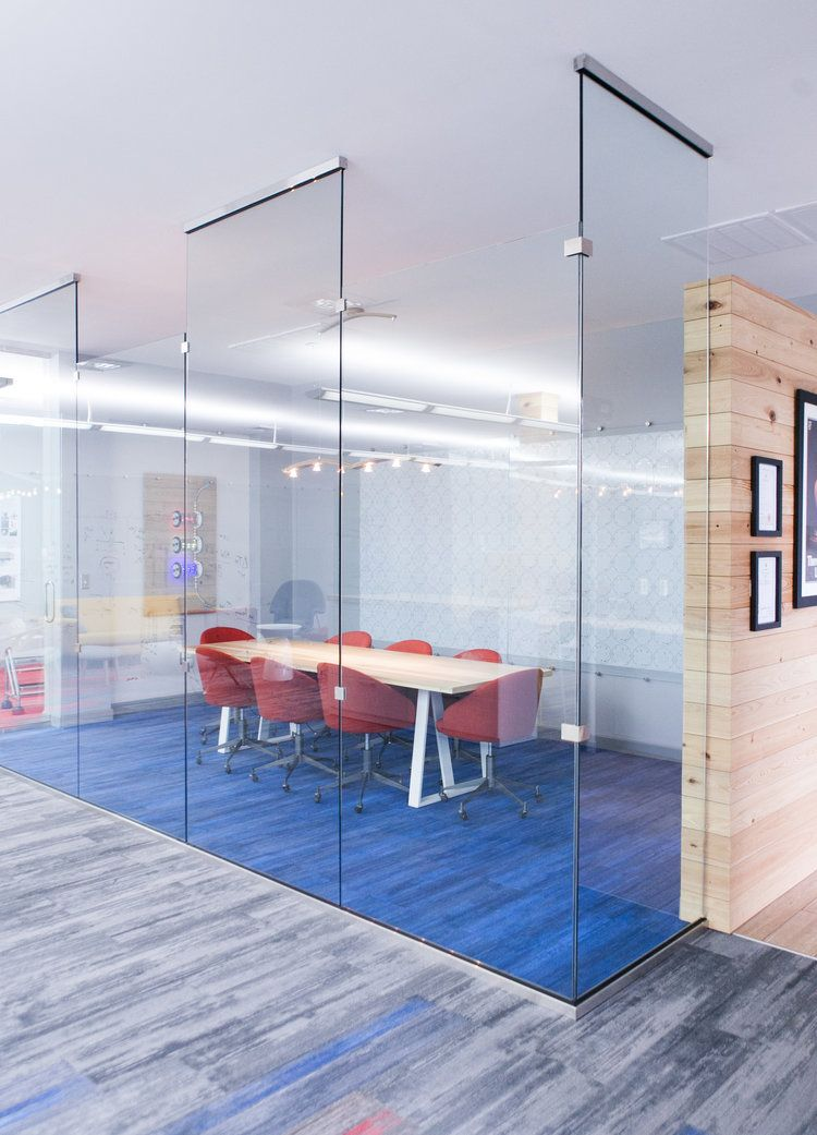 Haven interior design heatworks modern office tech for Modern tech office design