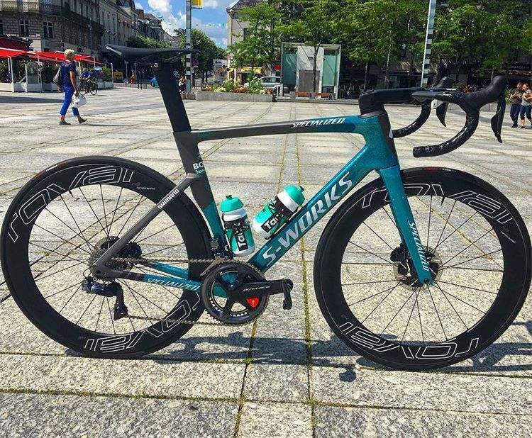 check out d306a fd119 Bora Hansgrohe 2018 Specialized S-Works Venge! | Cycling ...
