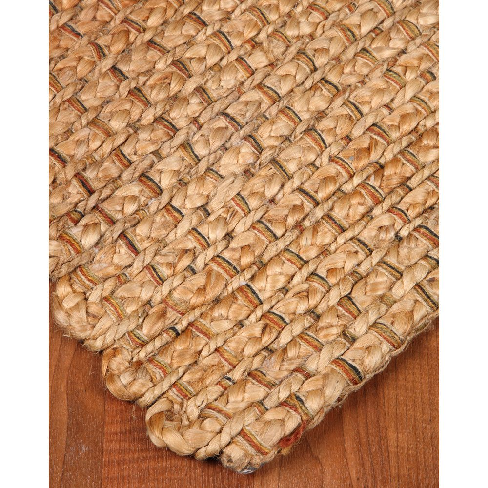 Natural Area Rugs Brentwood 100% Natural Jute Hand Woven Area Rug