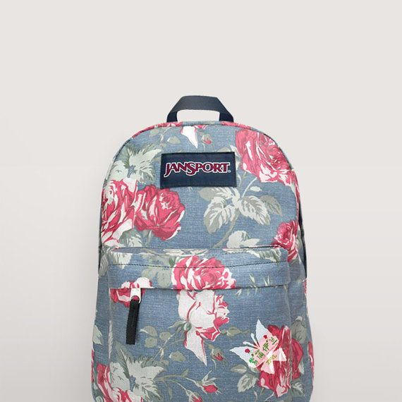 JanSport Floral Backpack Special Edition by NosFashionGraphic ... 9738ff5b18863