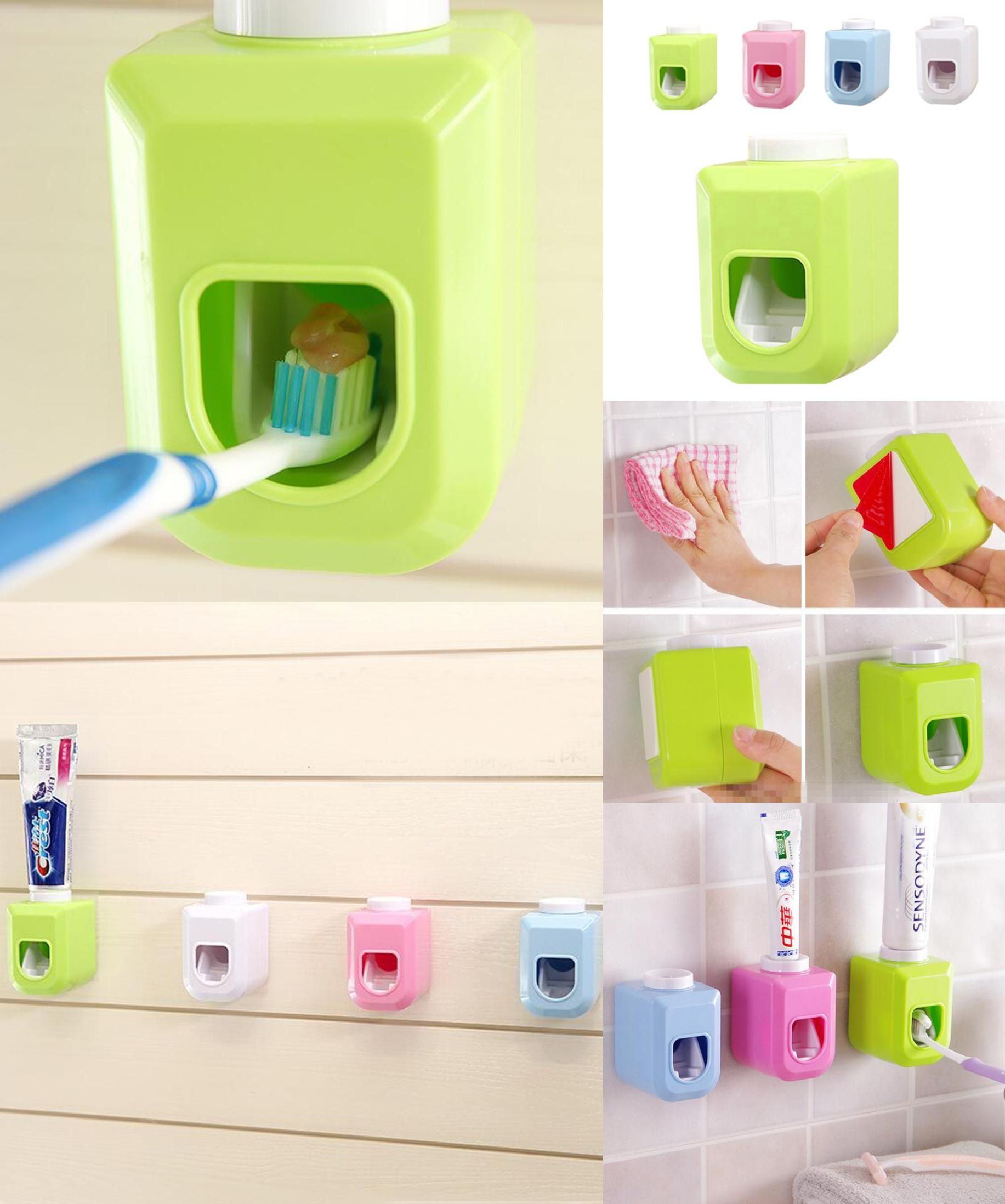 Visit To Buy Automatic Toothpaste Dispenser Family Toothbrush