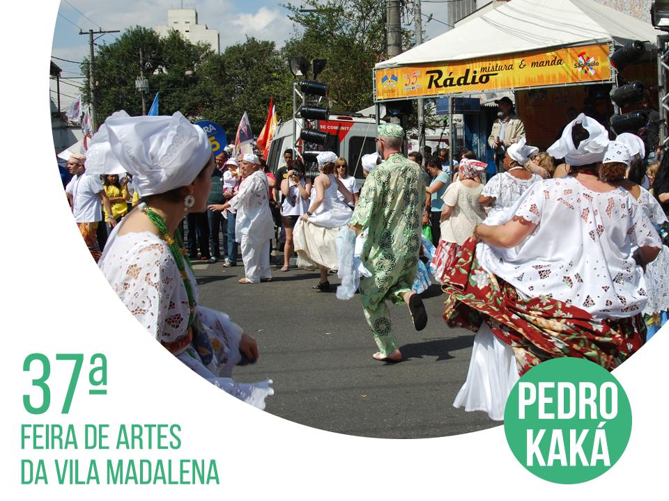 Os apaixonados por arte não podem perder a 37ª Feira de Artes da Vila Madalena. O evento que reunirá mais de 500 expositores será realizado dia 24 de agosto, na Rua Fradique Coutinho, das 9h às 18h30.