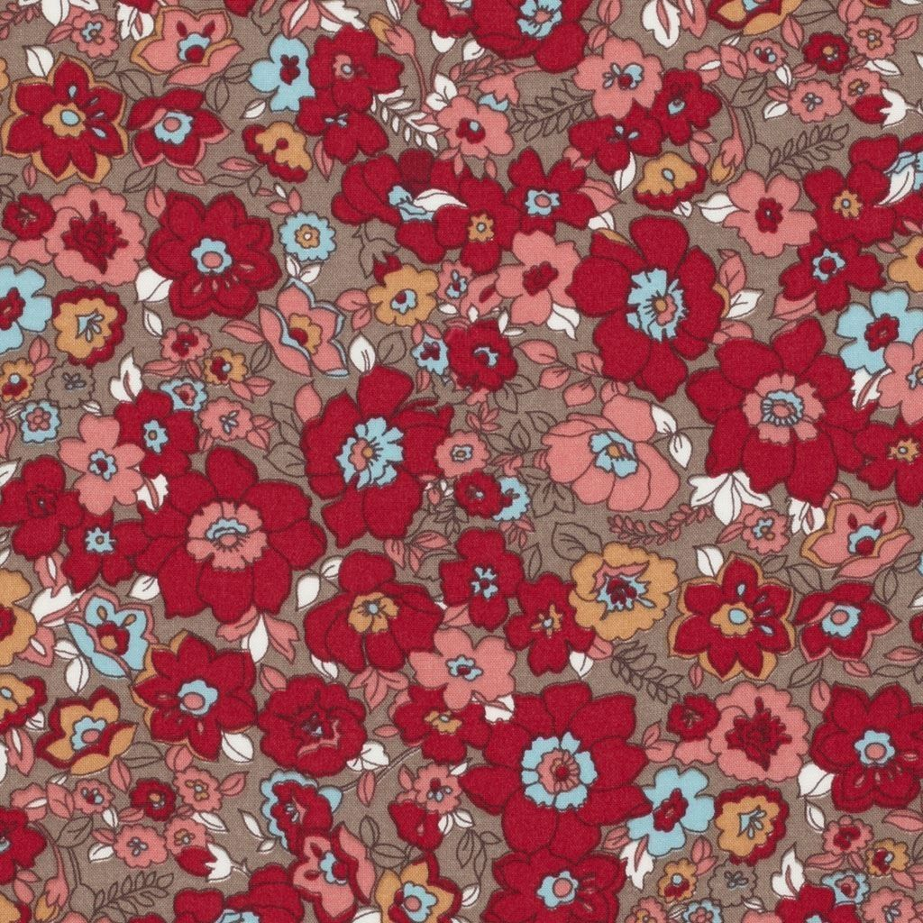 Tissu viscose imprimé fleurs