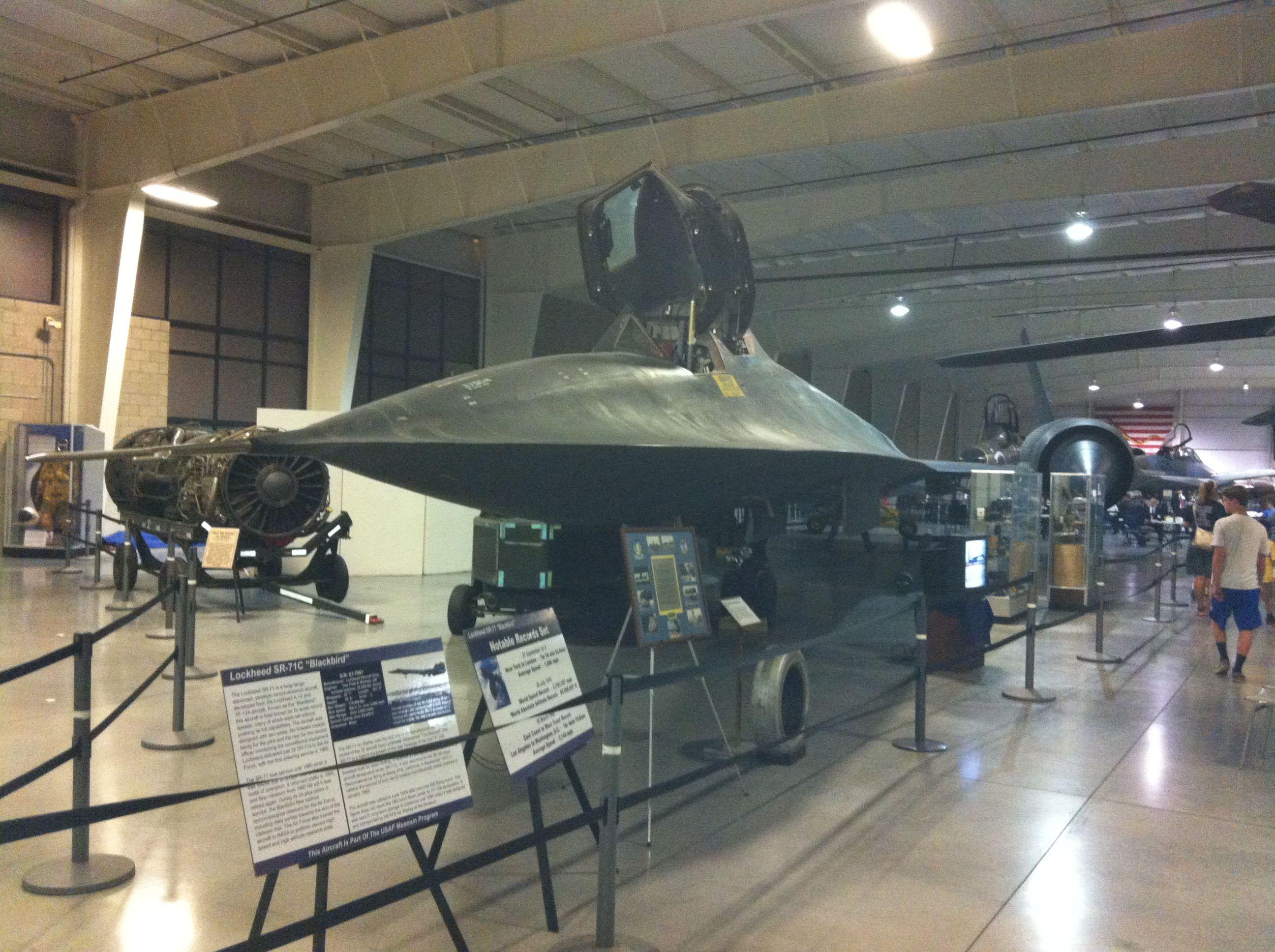 SR71 Blackbird, Hill Aerospace Museum, Hill Air Force