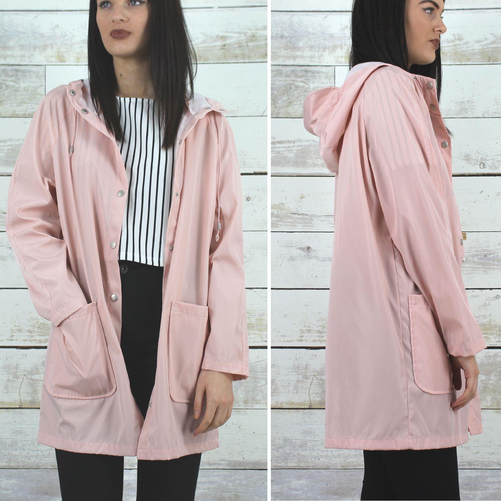 Glamorous Light Pink Hooded Rain Mac | Clothes | Pinterest | Mac ...