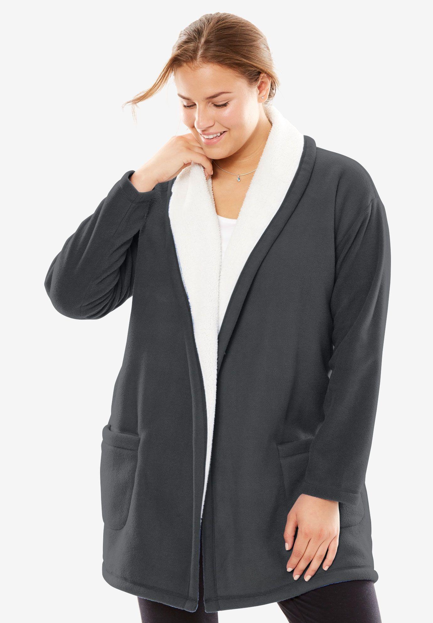 3febad0aeba1d4 Fleece Bed Jacket by Dreams & Co.®, $26.99 | * * * BUY - Absolutely ...