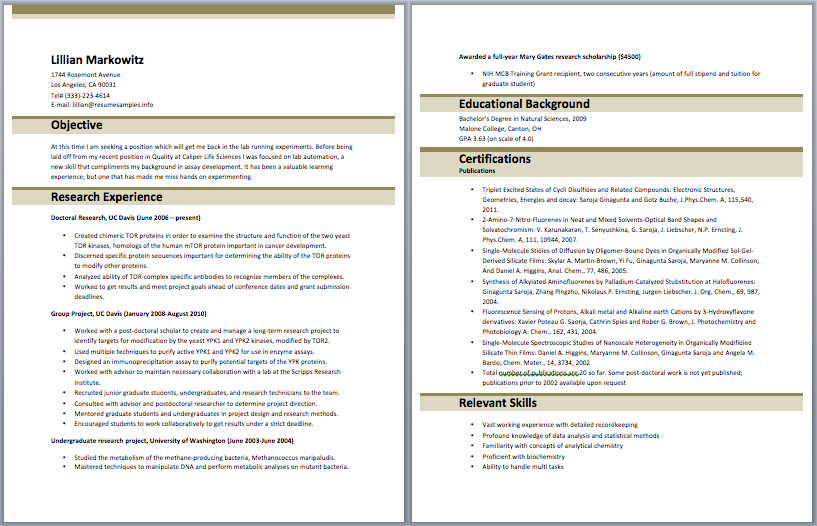 National Account Coordinator Resume  Accounting Resume Samples