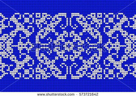 Monochrome Abstract Knitted Pattern. Handmade Ethnic Ornament for Jacquard, Textile Design, Greeting Cards, Background, Invitations, Wrapping, Wallpaper, Vintage.
