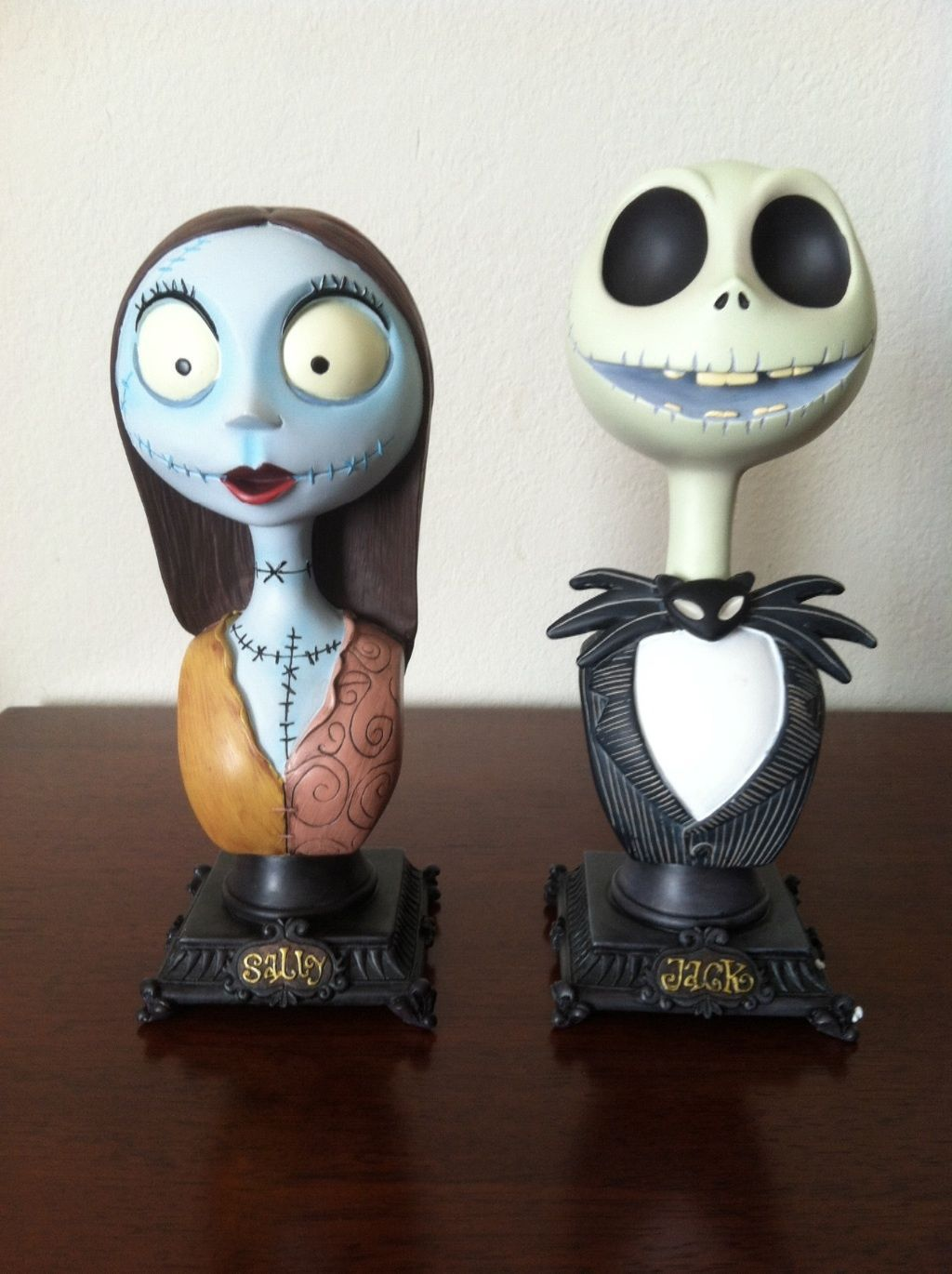 Disney\'s Nightmare before Christmas Jack and Sally Bust duet ...