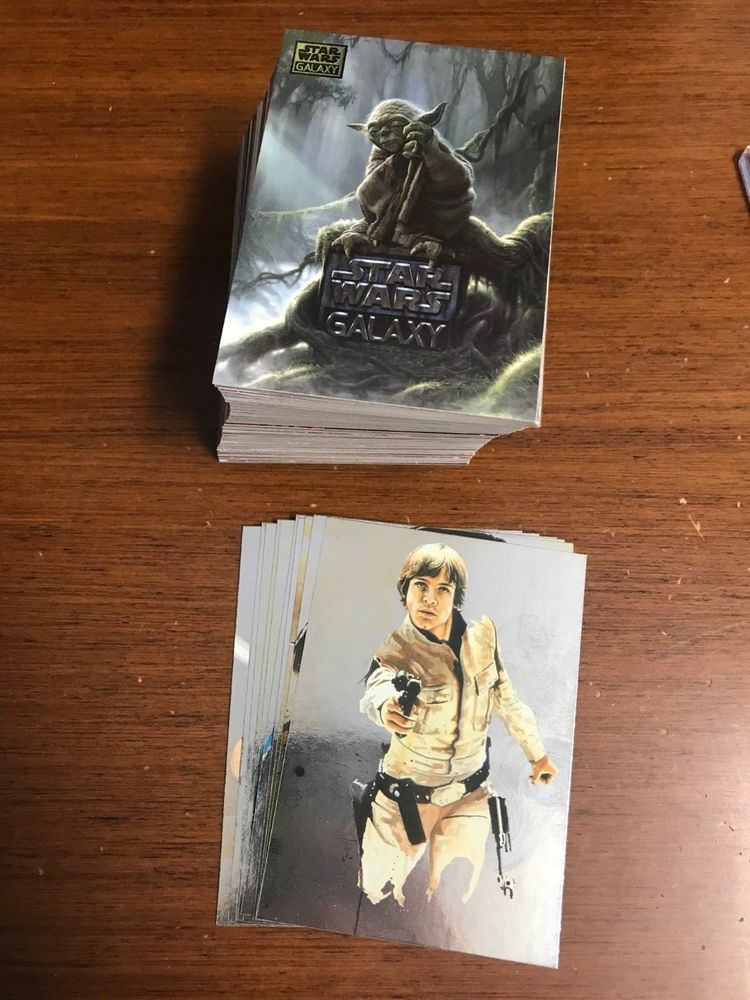 2011 topps star wars galaxy 6 complete base set 1120