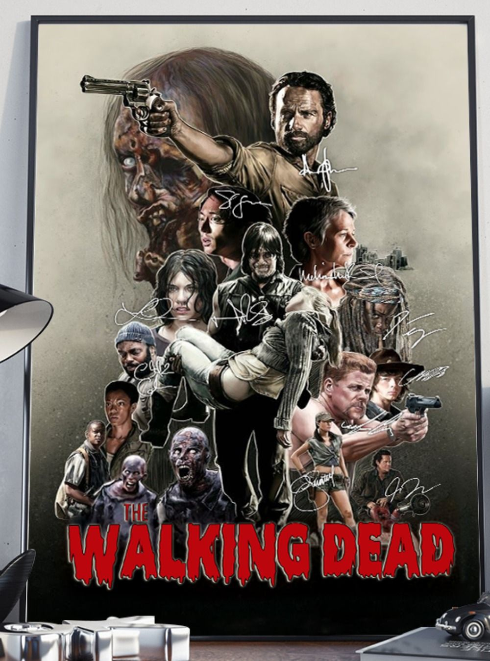 Walking Fearless Signature Poster Walking Dead Season Walking
