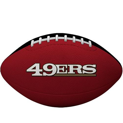 Officially Licensed NFL Gridiron Junior Football by Rawlings - 49ers
