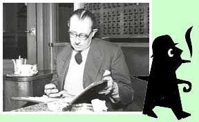 De schrijver Hendrikus Frederikus van der Kallen (1904-1964), beter bekend als Havank. is de bedenker van de Schaduw.