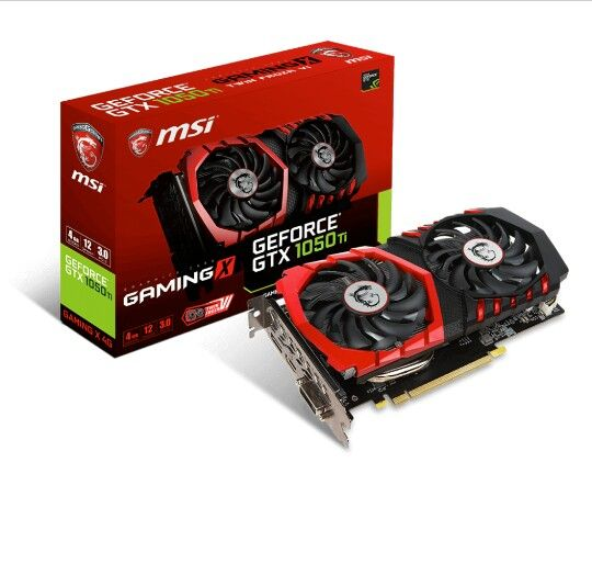 The Gtx 1050 Ti Gaming X 4gb Factory Overclocked Out Of The Box Graphic Card Nvidia Video Card