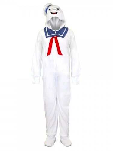 669167fc93 Ghostbusters Stay Puft Marshmallow Man Pajamas