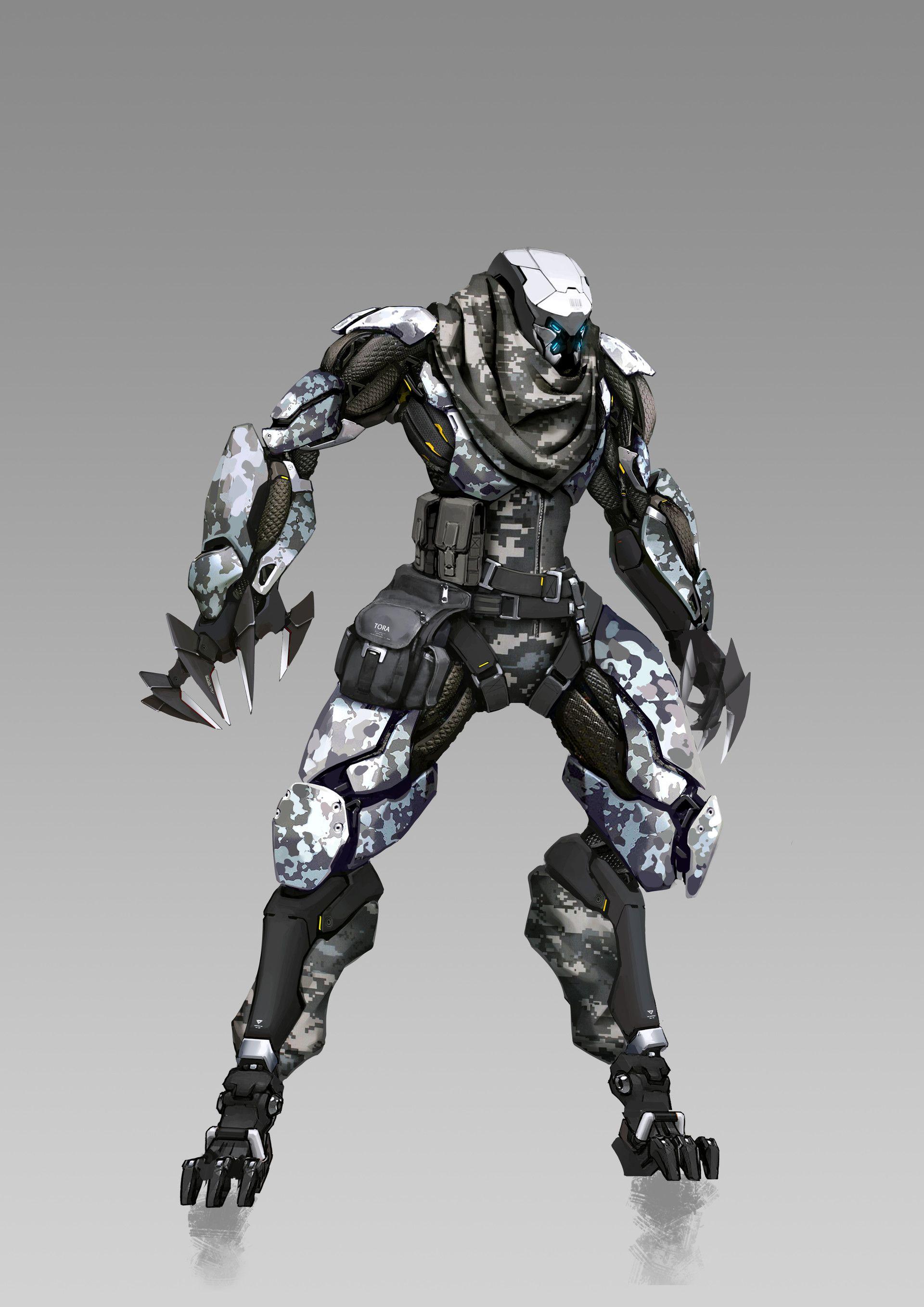 Base Concept Art Sci Fi Robots