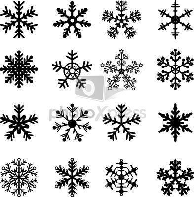 Snowflake Vector Flocon De Neige Dessin Flocon De Neige Flocon